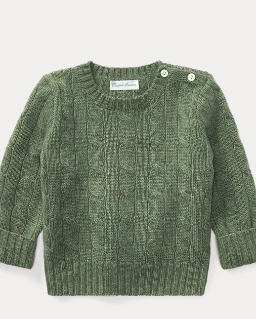 90d1a8da4108 Cable-Knit Cashmere Sweater
