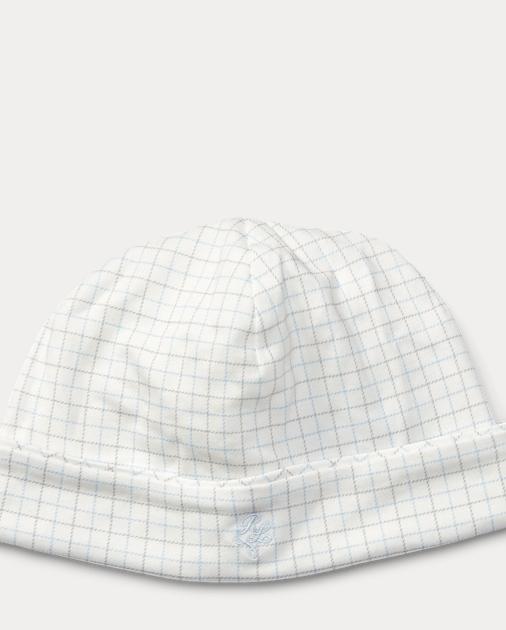 produt-image-0.0. FOE BABY Tattersall Cotton Hat. Baby Boy 0038f54e2cae