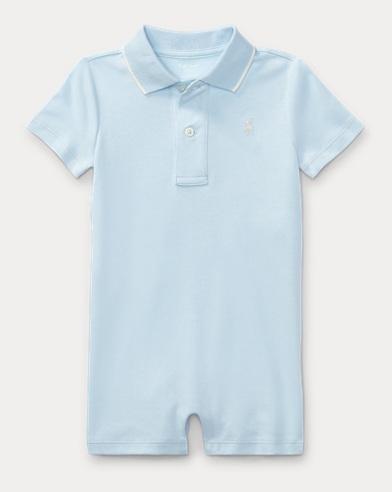 Cotton Interlock Polo Shortall