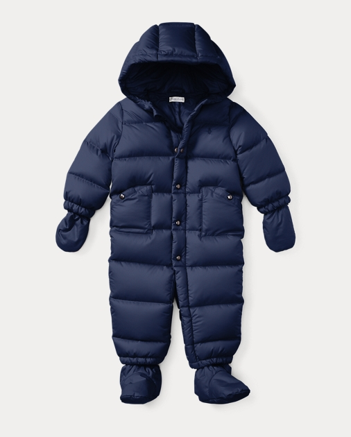 53d35caf4 Quilted Down Bunting | Outerwear & Jackets Baby | Ralph Lauren