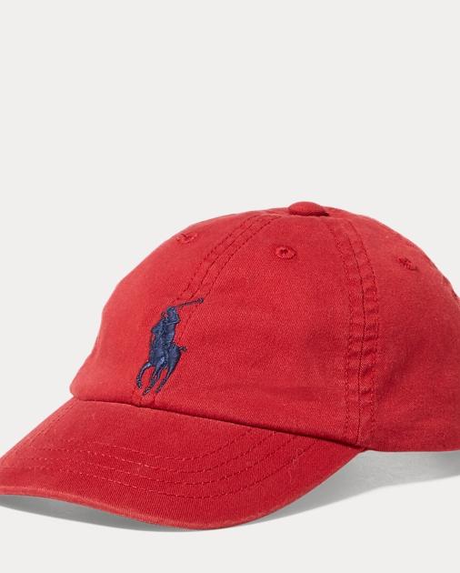 e94b144636598 Baby Boy Big Pony Chino Baseball Cap 1