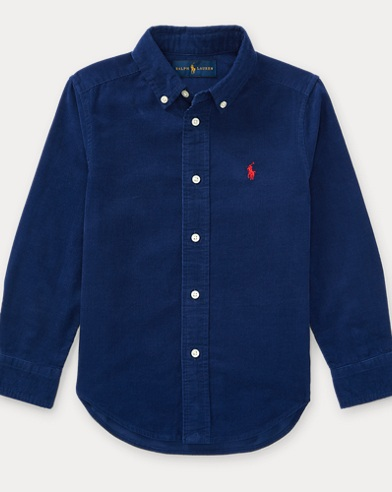 Cotton Corduroy Sport Shirt
