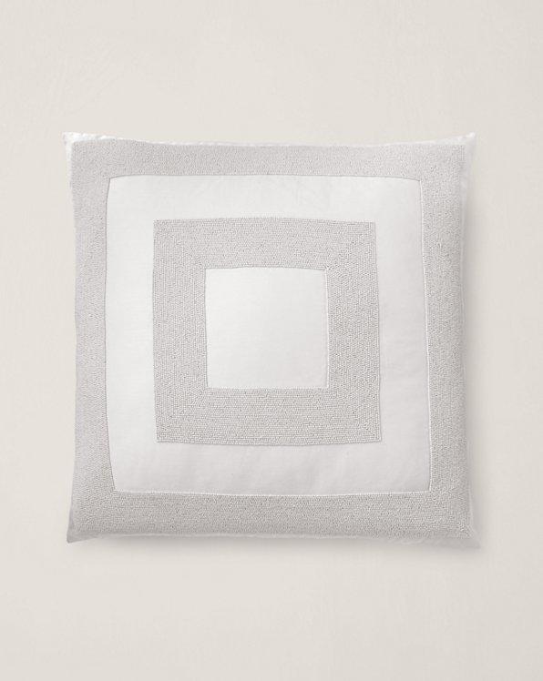 Amaya Beaded Throw Pillow