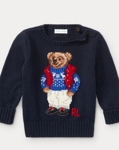 Polo Bear Cotton Sweater