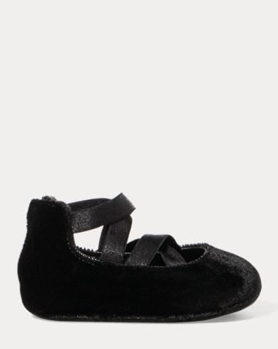 Priscilla Velvet Ballet Flat