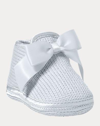 Pantofole Addison con fiocco