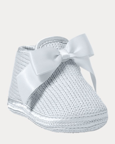 Addison Knit Slipper With Bow 8e375822b00b