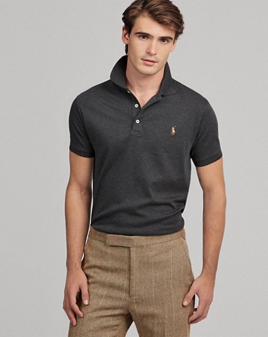 Slim Fit Cotton Interlock Polo