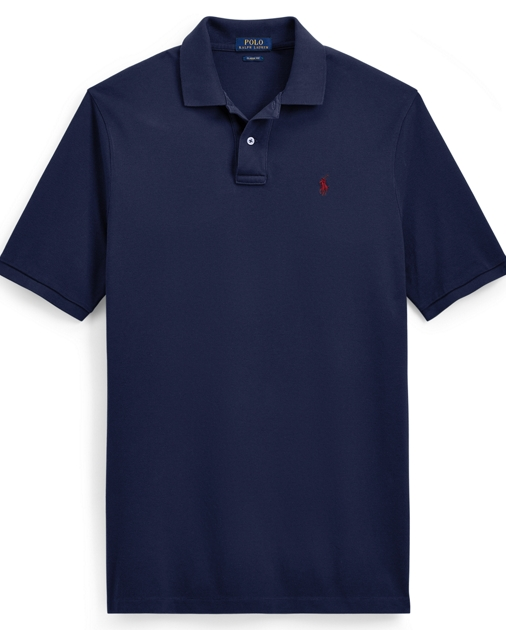 b916e2dd3190 produt-image-0.0. produt-image-1.0. produt-image-2.0. produt-image-3.0. MEN  CLOTHING Polo Shirts Slim Fit Weathered Mesh Polo. Polo Ralph Lauren