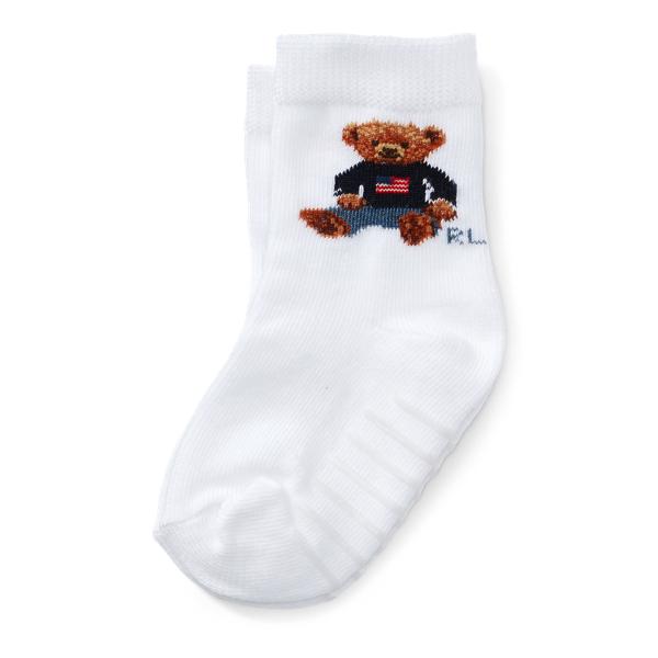 Flag Polo Bear Socks