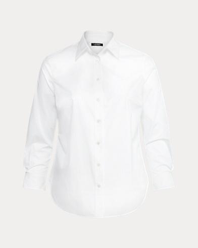 No-Iron Stretch Cotton Shirt