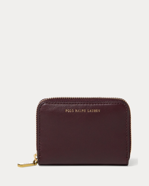 echte Schuhe Schnelle Lieferung baby Leather Small Zip Wallet | Wallets & Small Leather Goods ...