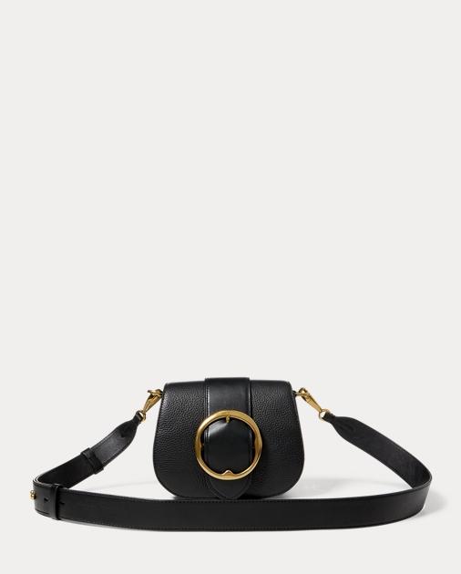 pebbled leather lennox bag ralph lauren de. Black Bedroom Furniture Sets. Home Design Ideas