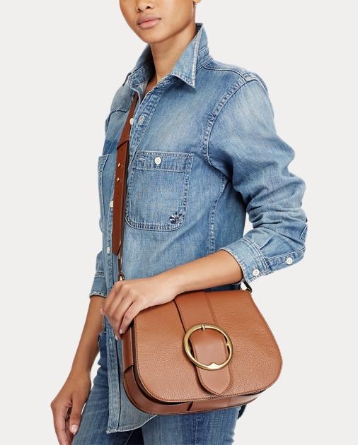 9f8b490a87 Polo Ralph Lauren Leather Large Lennox Bag 5