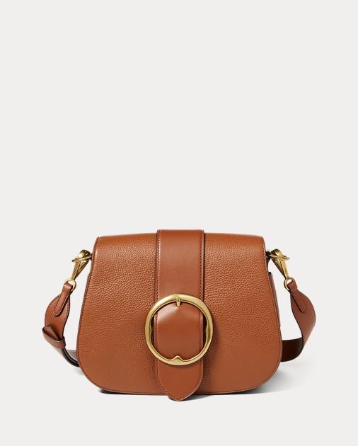 dd2a371dd546 Leather Large Belt Saddle Bag