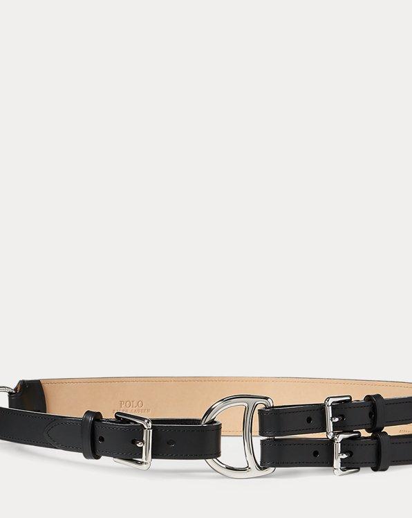 Tri-Strap Leather Belt