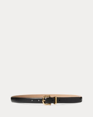 Cinturón de napa Skinny