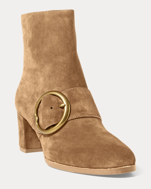 Polo Ralph Lauren Maddie Suede Ankle Boots