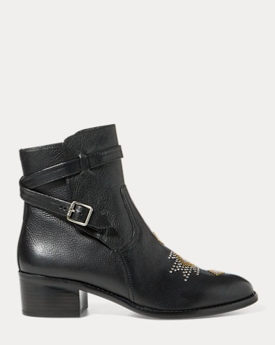 Mollie Microstud Leather Boot