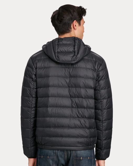 Big & Tall Packable Hooded Down Jacket 4
