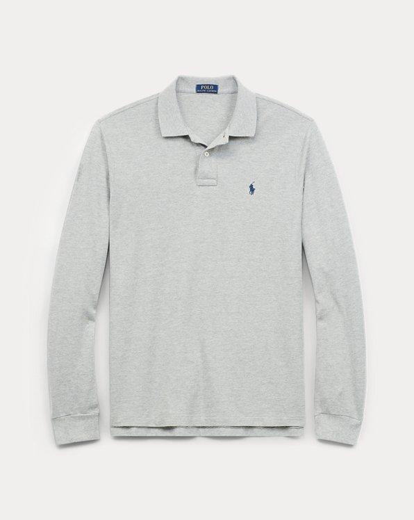 Men's Big & Tall Long Sleeve Polo Shirts | Ralph Lauren