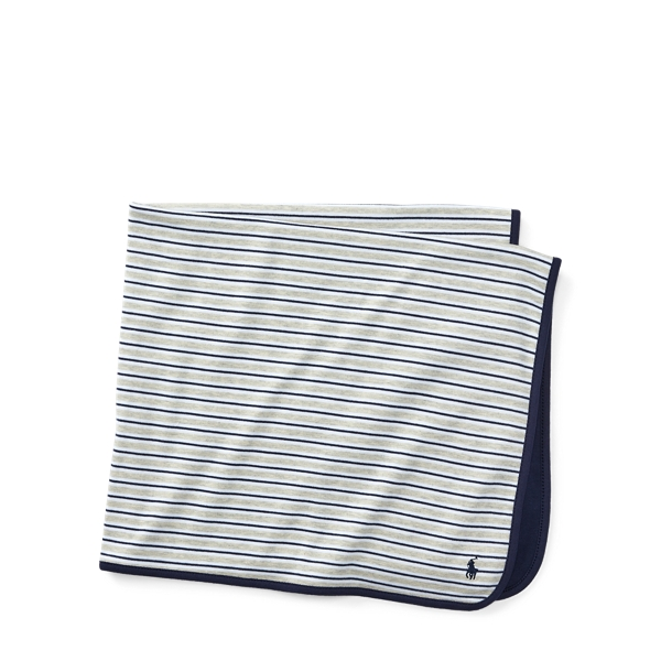 Polo Ralph Lauren Striped Cotton Blanket