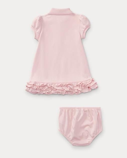 3ac862de3 Ruffled Polo Dress & Bloomer