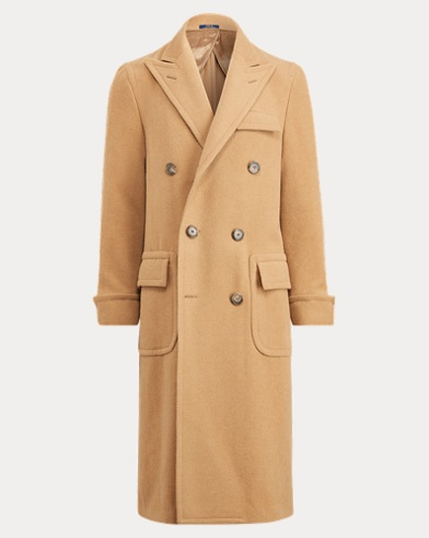 Polo Camel-Hair Topcoat