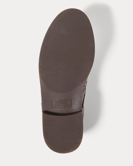 Child Leather Wingtip Oxford Shoe 4