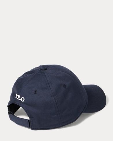 Cappellino da baseball in twill. colore (2)  Blu navy · Nero Polo. Polo  Ralph Lauren. Cappellino ... cecd5b55f48e