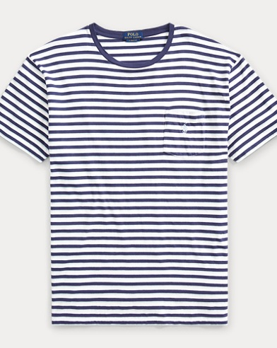 Classic Fit Striped T-Shirt