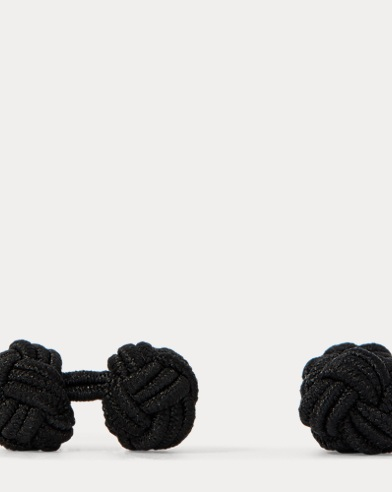 Silk Knot Cuff Links
