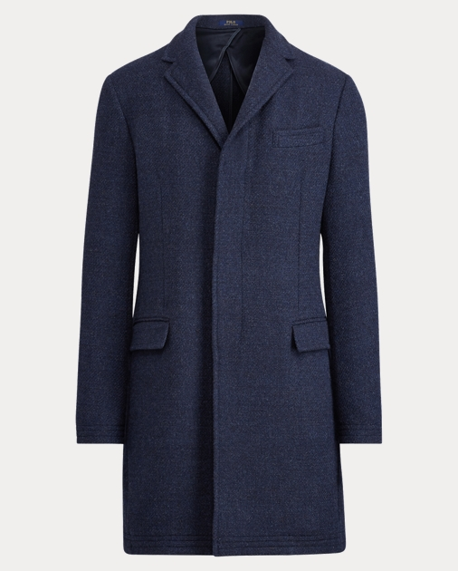 d3e2a0fb45b Polo Ralph Lauren Morgan Merino-Silk Topcoat 1