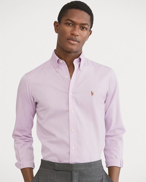 37c84c9d Classic Fit Easy-Care Shirt | Standard Fit Dress Shirts | Ralph Lauren