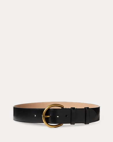 Vachetta Leather Wide Belt