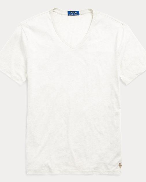 53d466997e Custom Slim Fit V-Neck T-Shirt