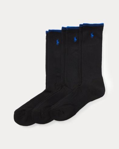 Tech Athletic Crew Sock 3-Pack