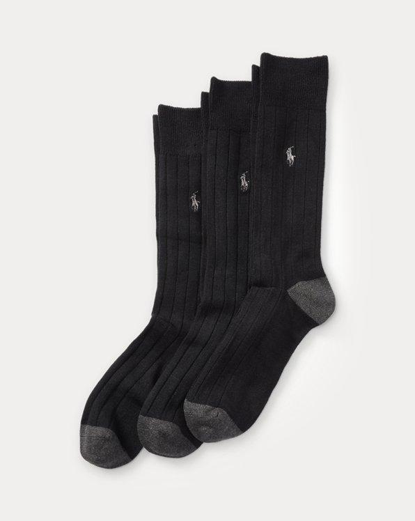 Rib-Knit Sock 3-Pack