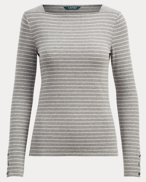 0bc5e8dc02 Striped Boatneck Top | Tees & Sweatshirts Shirts & Tops | Ralph Lauren