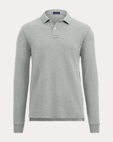 Men's Cotton Mesh Polo Shirt