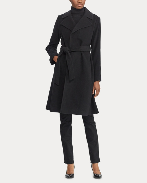 0112bb7a803a Lauren Wool-Cashmere Wrap Coat 2