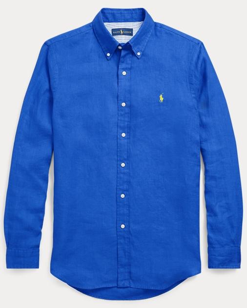 7399fd99bf83 Polo Ralph Lauren Classic Fit Linen Shirt 1
