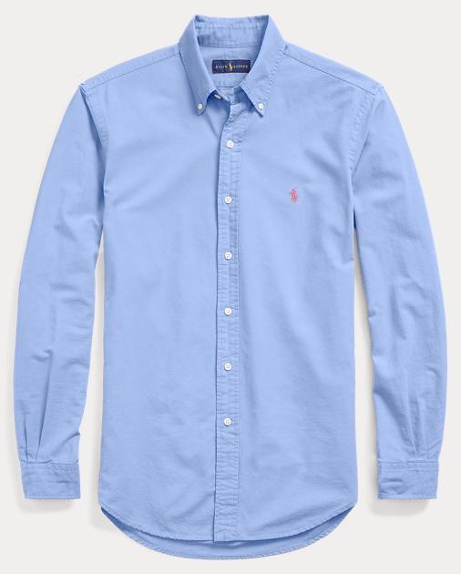 a91e8935 Polo Ralph Lauren Slim Fit Oxford Shirt 1