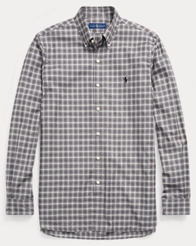 Classic-Fit-Baumwollhemd
