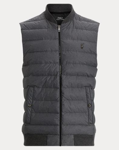 Active Fit Down-Paneled Vest