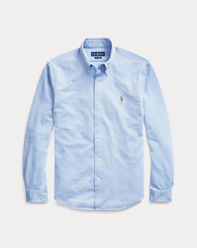 Classic Fit Knit Oxford Shirt