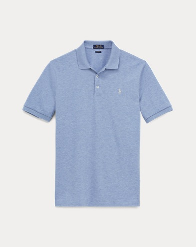 Slim-Fit Stretch-Piqué-Polo
