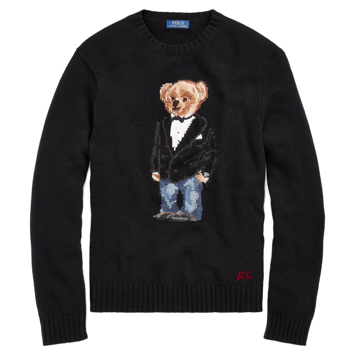ae64c495ea0 Tuxedo Bear Wool Sweater | Ralph Lauren UK