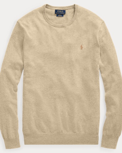 Slim Fit Cotton Sweater