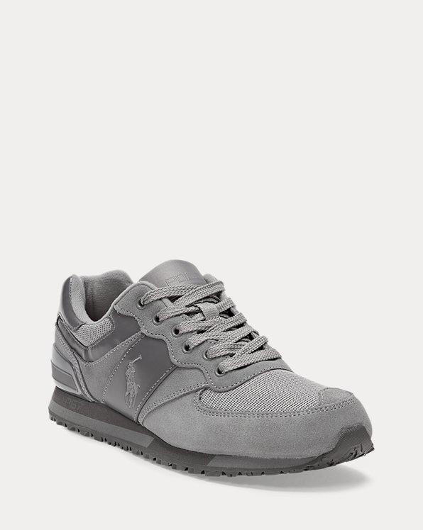 Slaton Suede-Mesh Sneaker